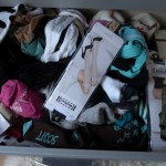 my wardrobe // how to organize socks