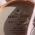 sensual seduction // TRIUMPH SEDUCTION – DUSTING POWDER TALC