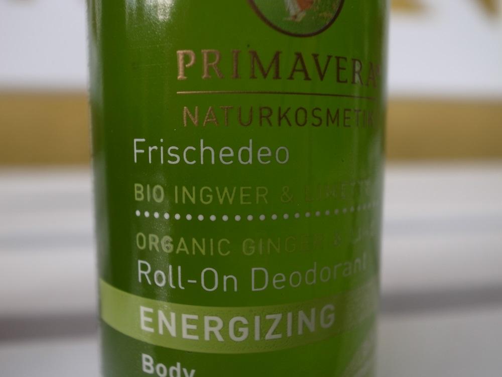 PrimPrimavera Ingwer & Limette Deo