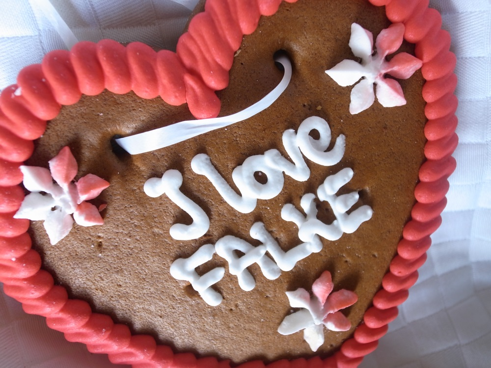 FALKE I love Wies'n