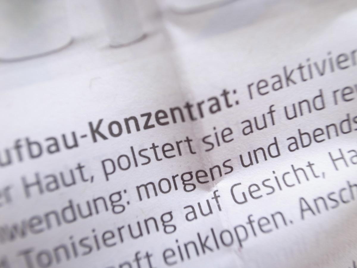 Weleda Nachtkerze Aufbau-Konzentrat