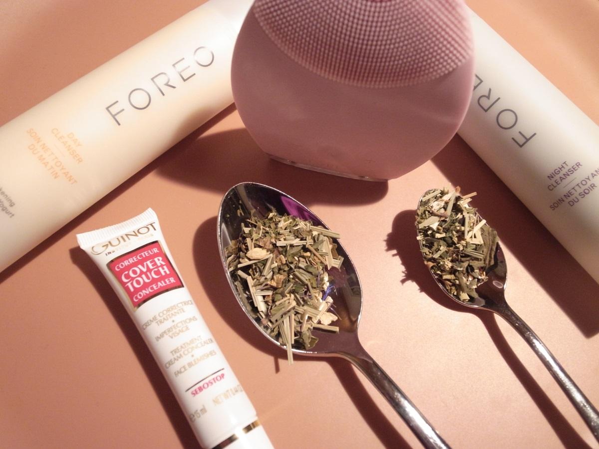 Pickel, Unreinheiten, schöne Haut, reine Haut, FOREO LUNA, Gesichtsreinigung
