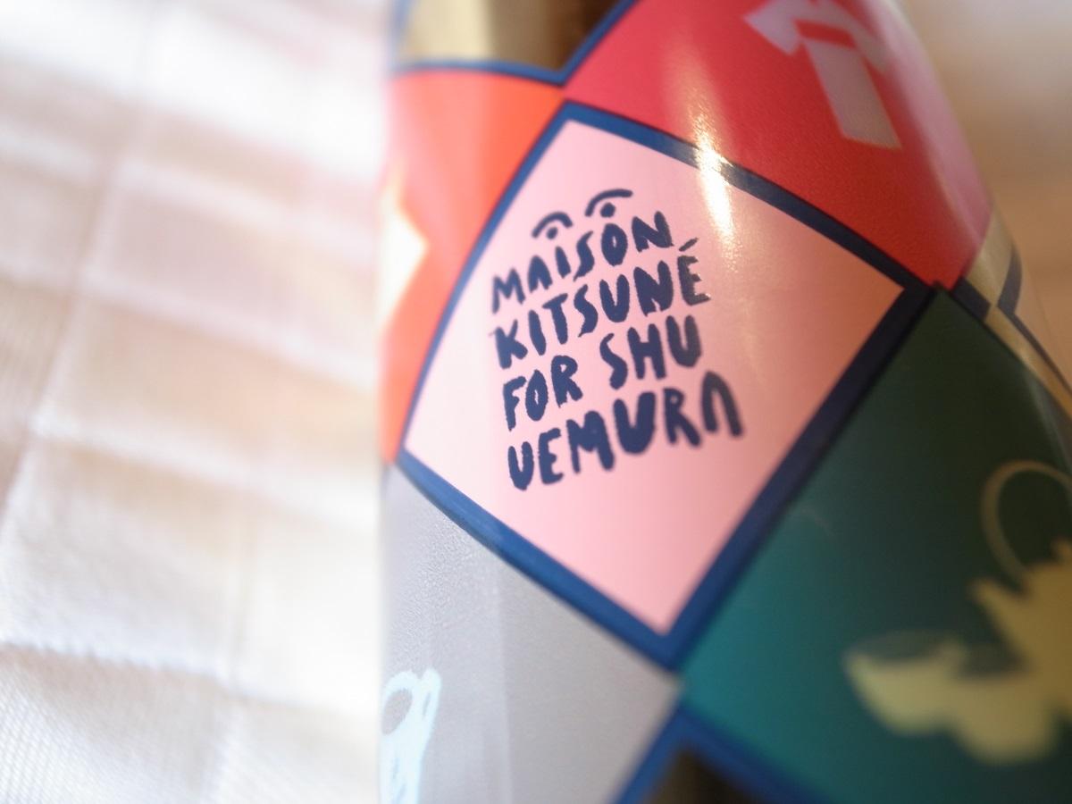 Das limitierte Maison Kitsune x Shu Uemura ESSENCE ABSOLUE NOURISHING PROTECTIVE OIL