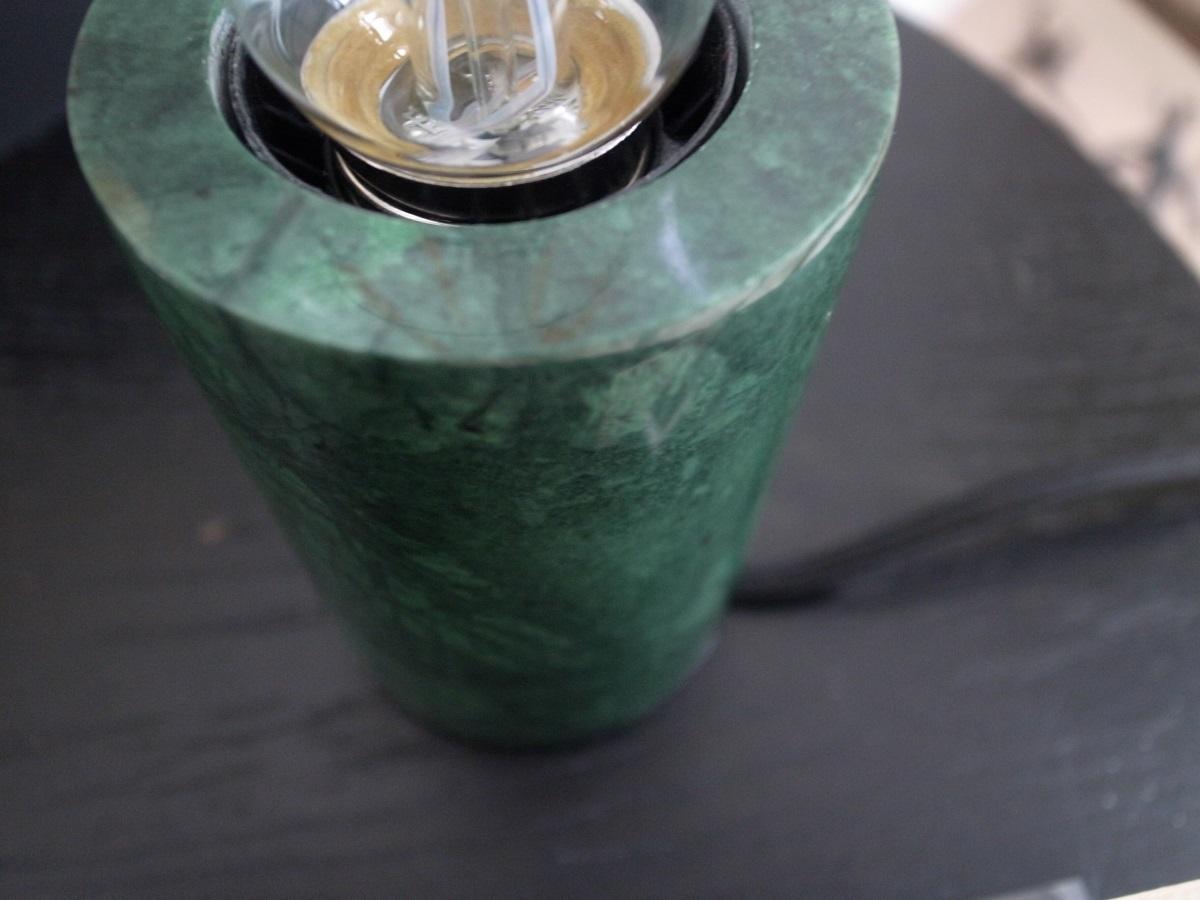 Marmor Lampe