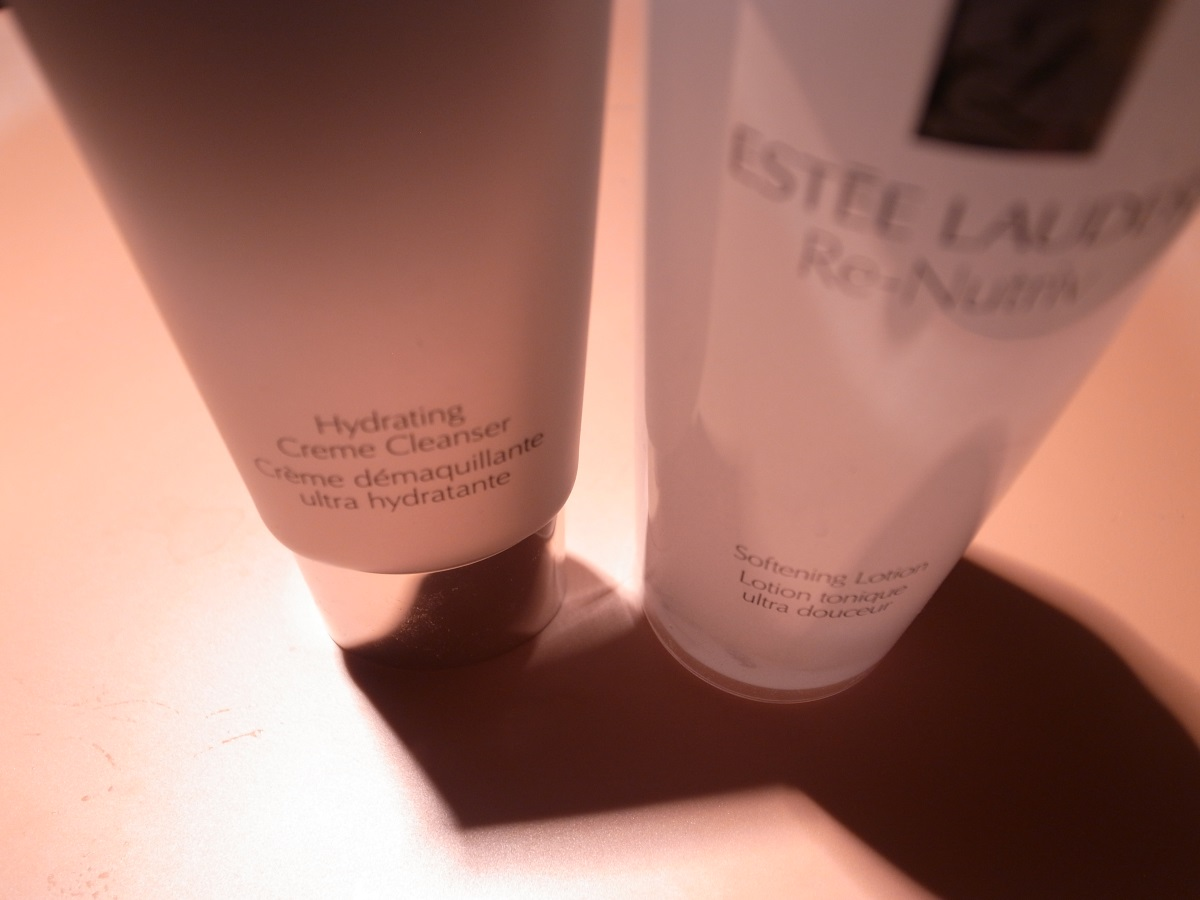 ESTÉE LAUDER RE-NUTRIV Hydrating Creme Cleanser & Softening Lotion