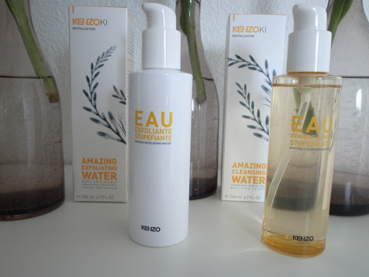 Die neuen KENZOKI AMAZING CLEANSING WATER & KENZOKI AMAZING EXFOLIATING WATER