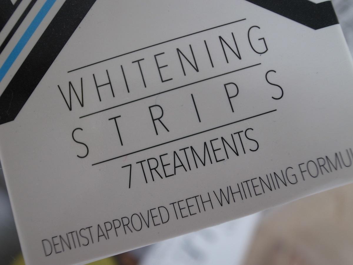 ALPINE WHITE WHITENING STRIPES für die Zähne