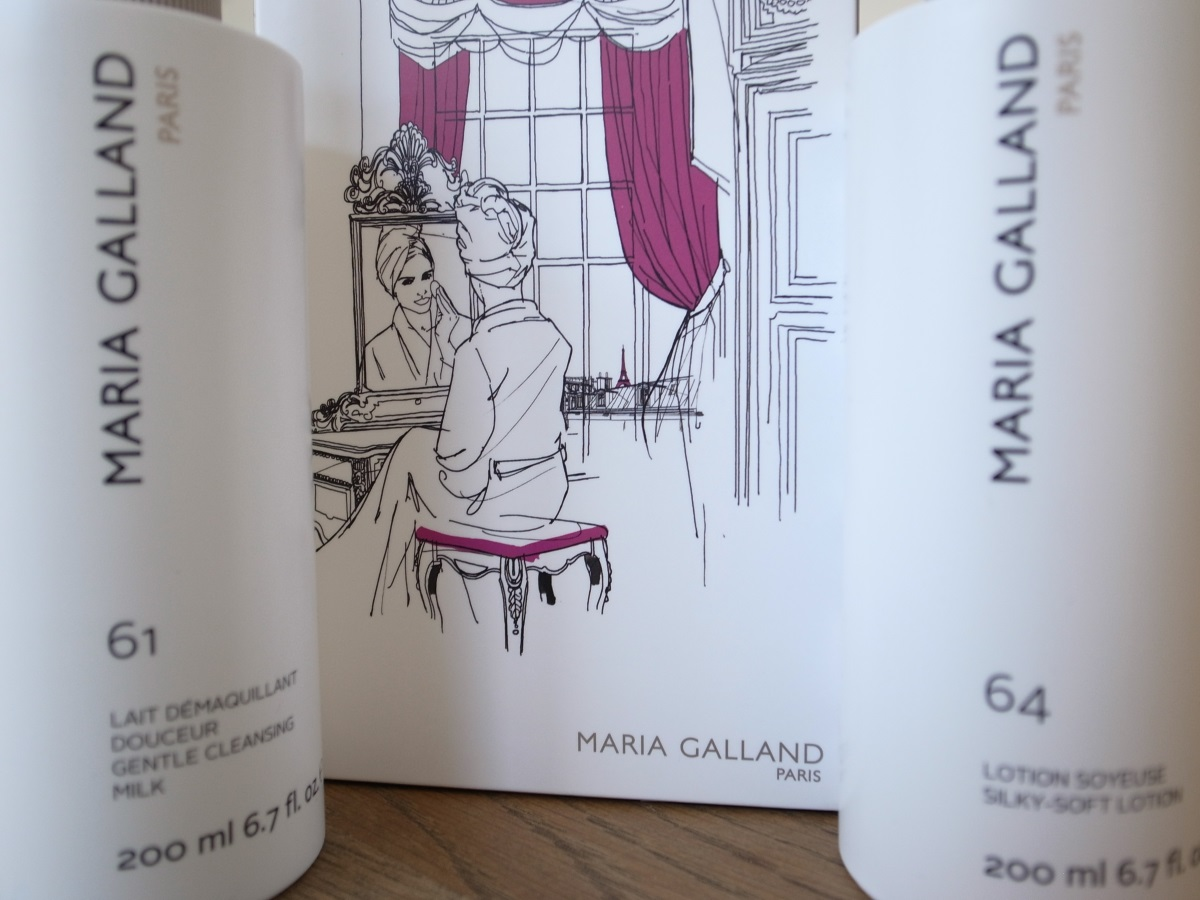 MARIA GALLAND L'ART DU DÉMAQUILLAGE