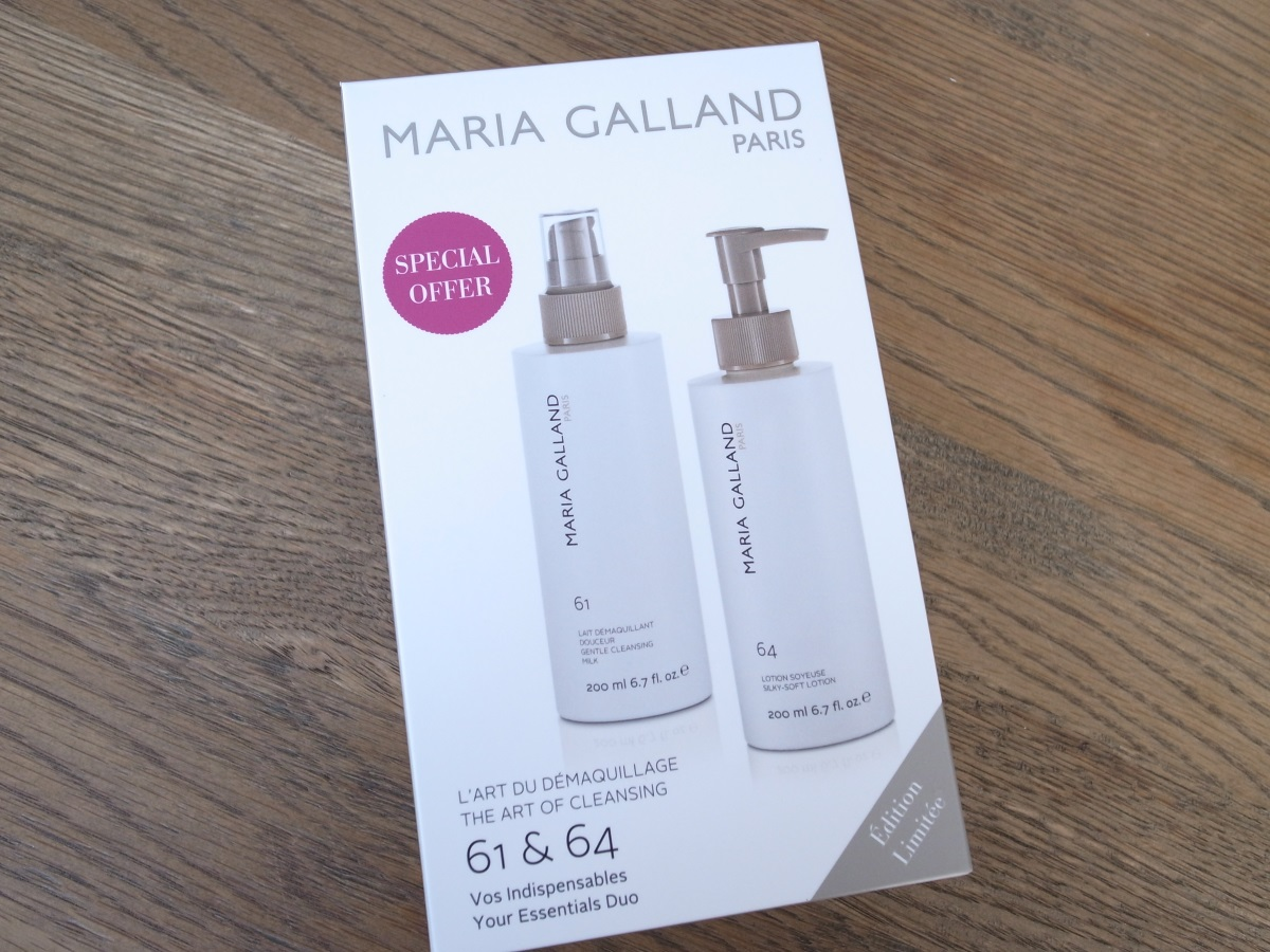 MARIA GALLAND L'ART DU DÉMAQUILLAGE