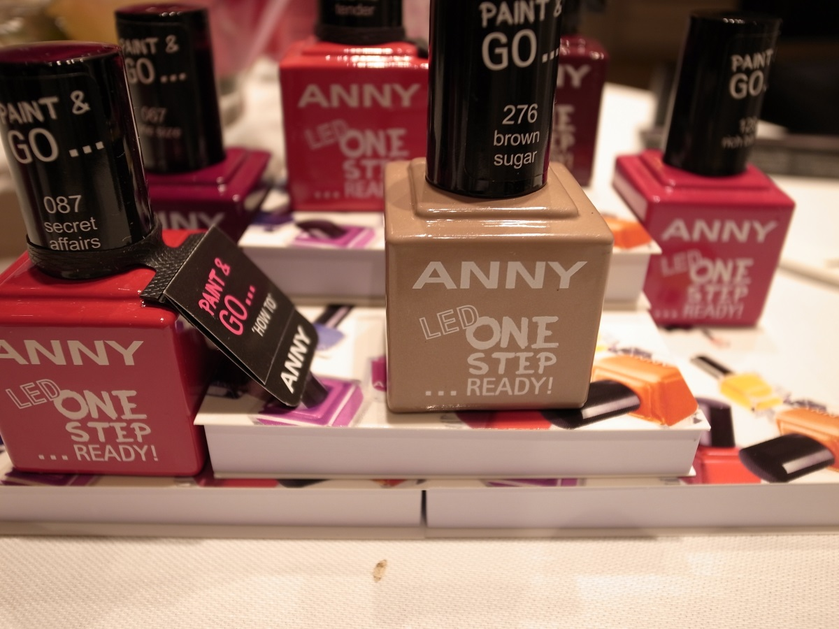 ANNY Nagellacke und ANNY Paint & Go