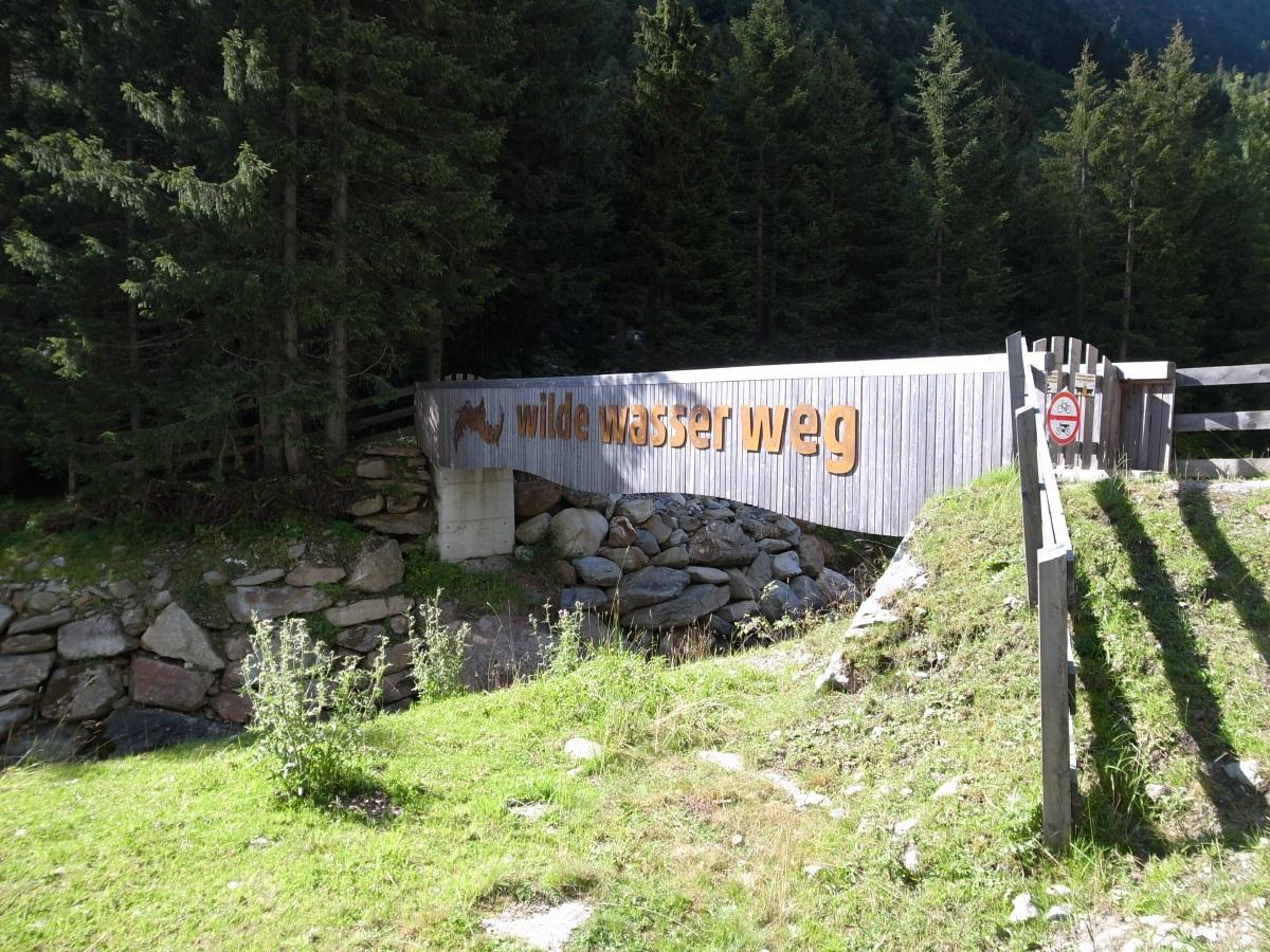 Grawa Wasserfall WildeWasserWeg