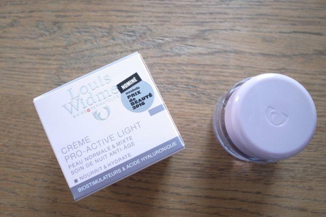 LOUIS WIDMER Creme Pro-Active Light Nachtpflege