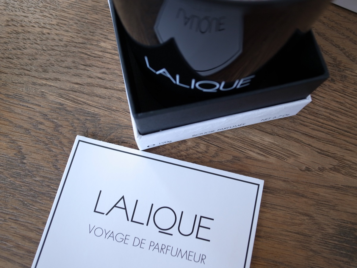 LALIQUE VOYAGE DE PARFUMEUR CHILI Duftkerze