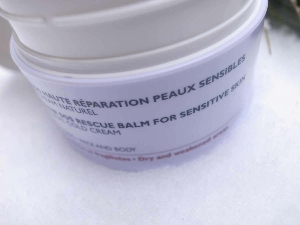 BIO BEAUTÉ by NUXE HIGH-REPAIR SOS RESCUE BALM for sensitive skin
