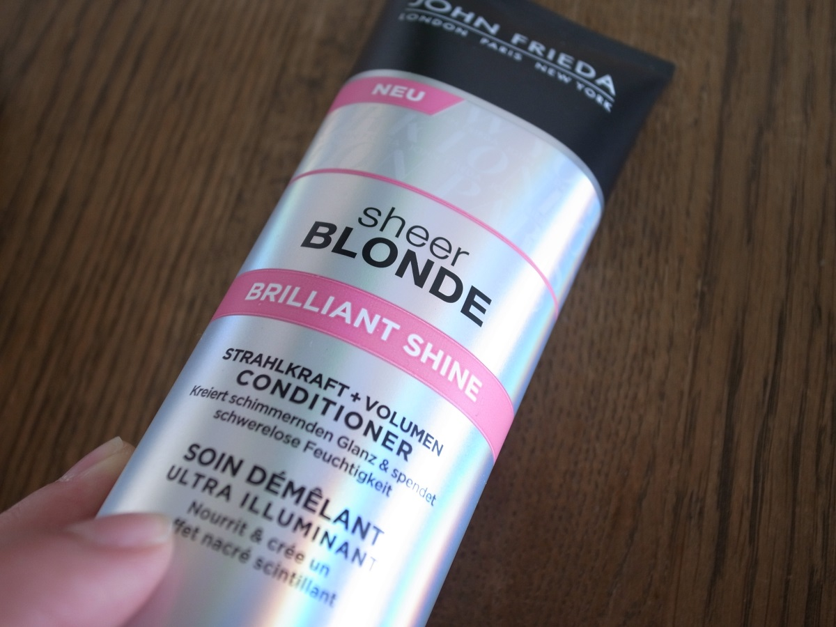 john frieda sheer blonde brilliant shine