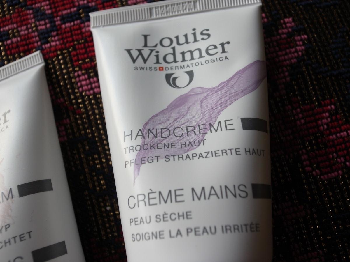 louis Widmer Hand Balsam UV 10 und Handcreme