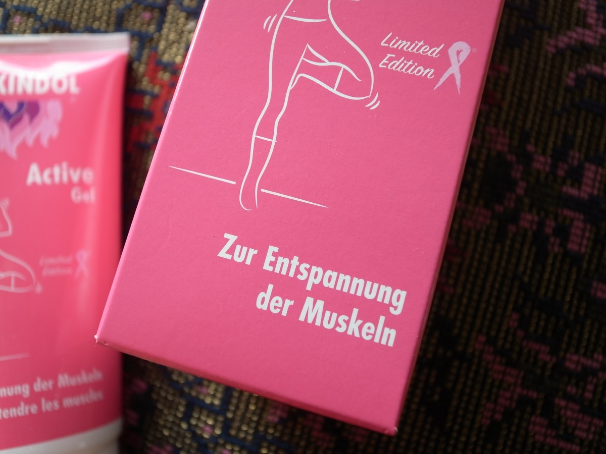 Perskindol Active Gel limited Edition Pink Ribbon Schweiz