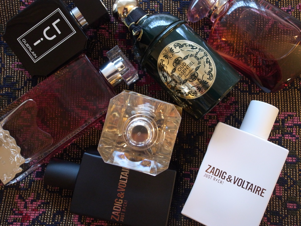 Duftneuheiten Guerlain, Shiseido, Zadig & Voltaire, Elie Saab