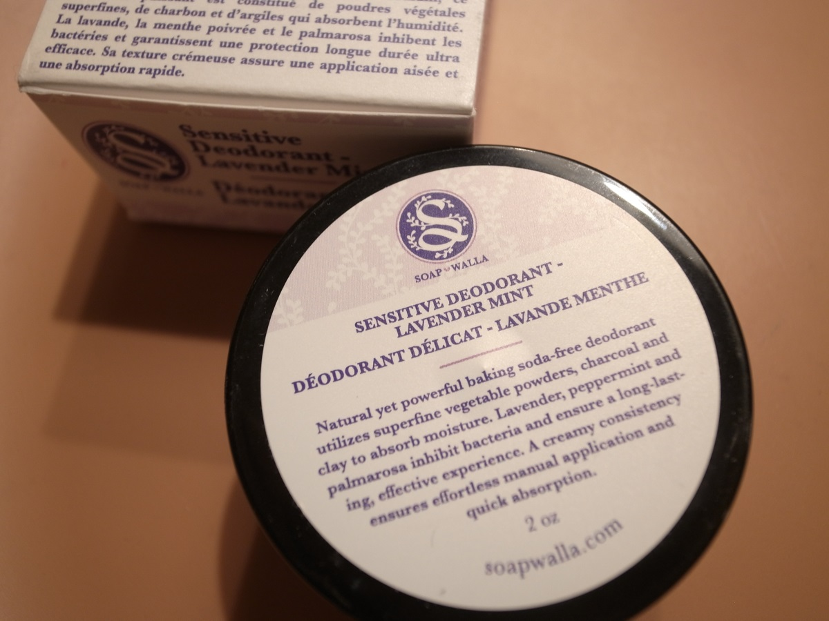 Soapwalla Kitchen Sensitive Skin Deodorant Cream