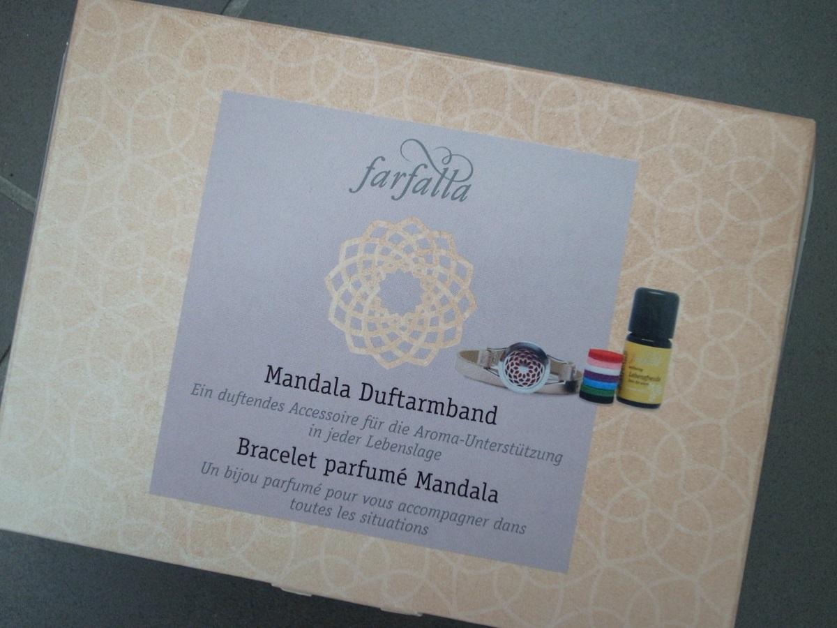 farfalla Mandala Duftarmband