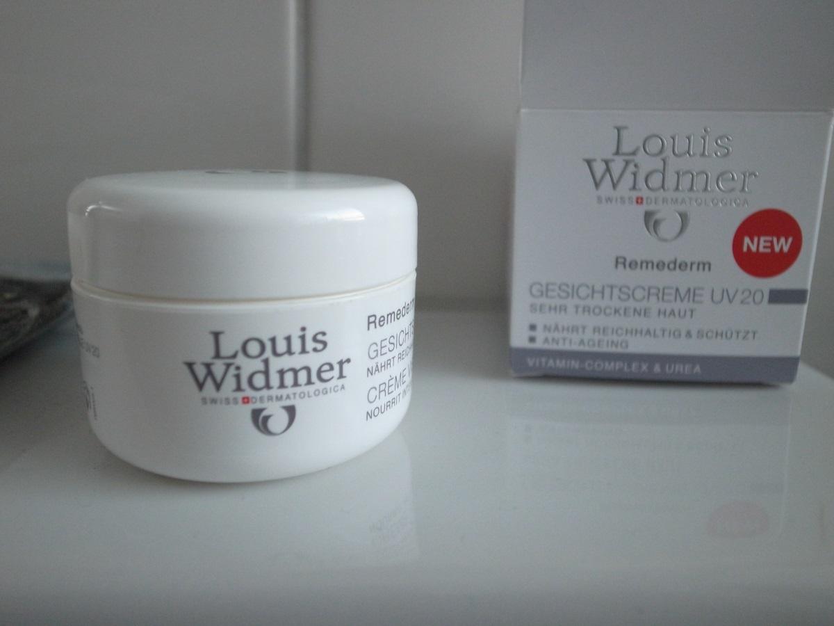 Louis Widmer Remederm Gesichtscreme UV 20