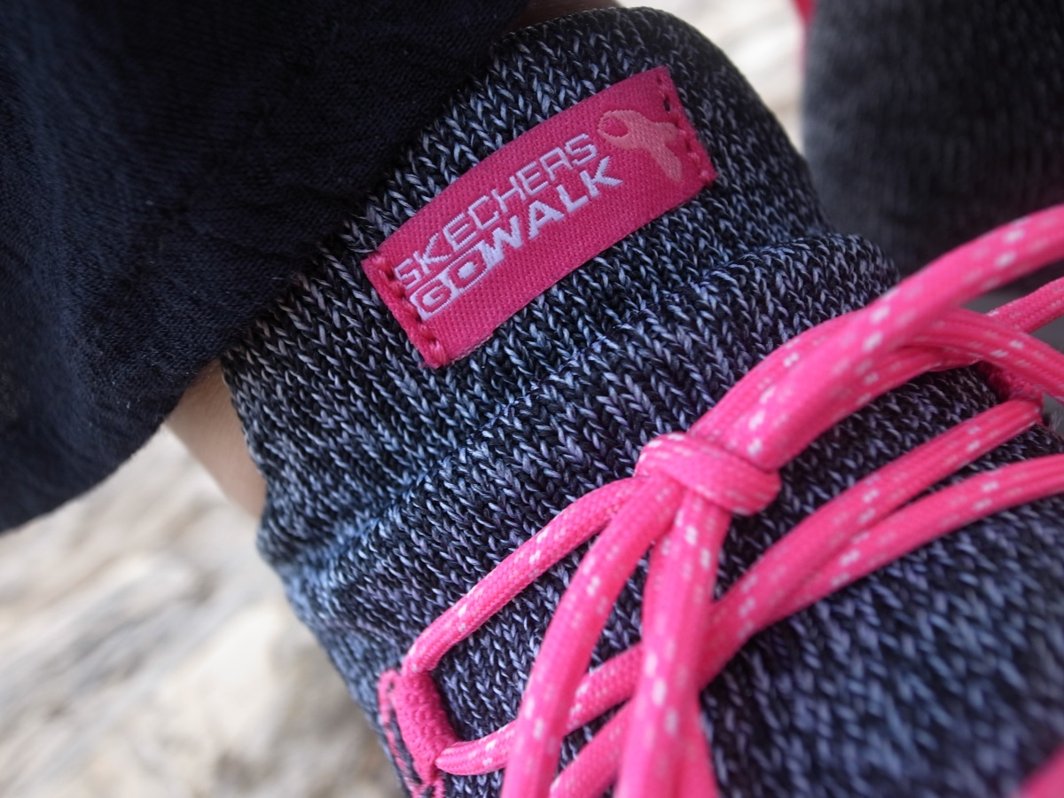 Skechers GOwalk Revolution Ultra Special Edition Pink Ribbon