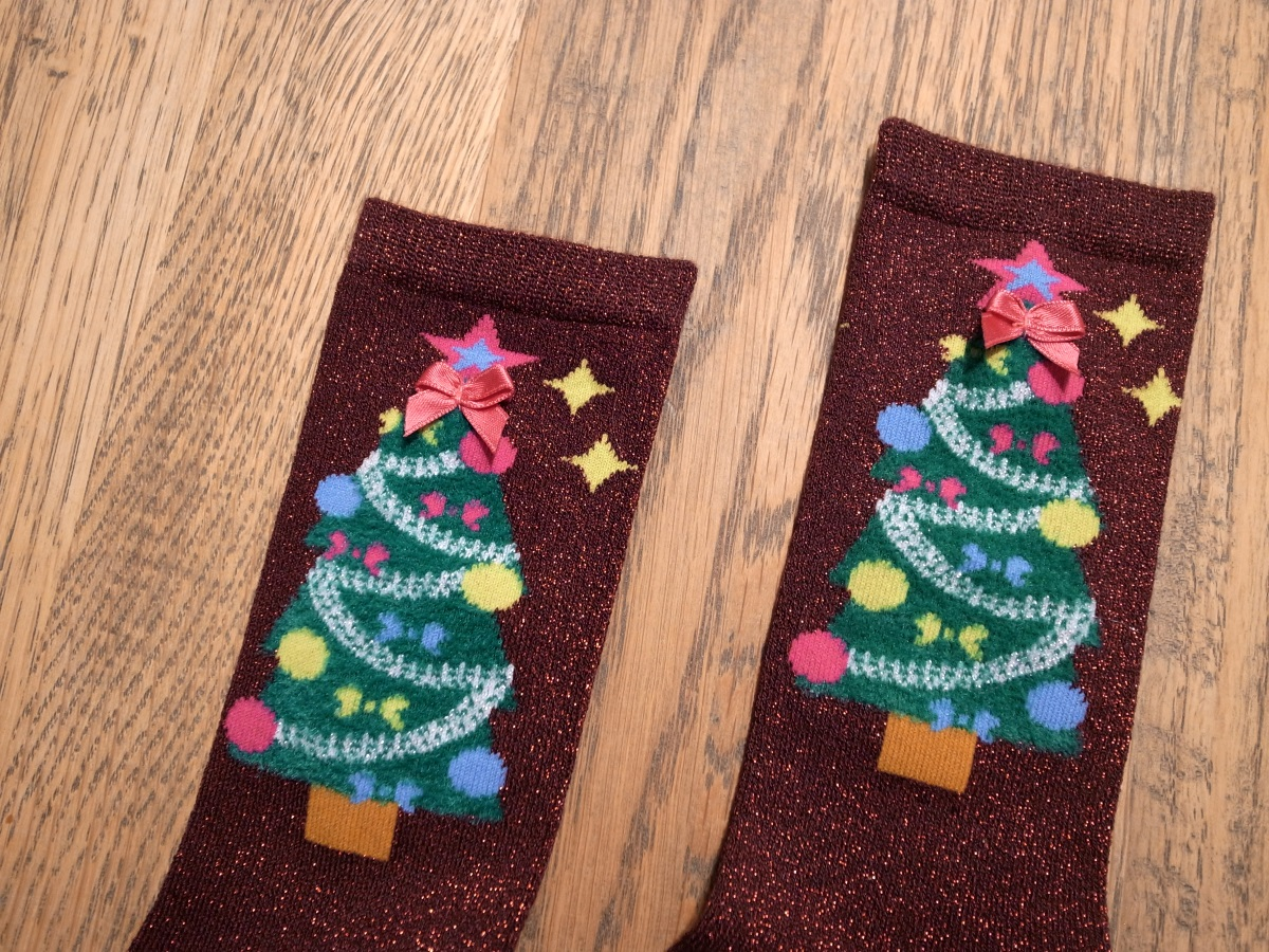 Burlington Ugly Christmas Damen Socken