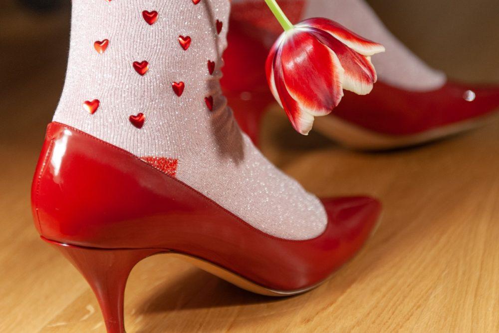 Burlington Socken Valentines Rock