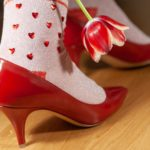 Valentine's Day – What is Love? Burlington Love Stinks & Valentines Rock Socken