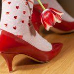 Valentine's Day – What is Love? Burlington Love Stinks & Valentines Rock Socken
