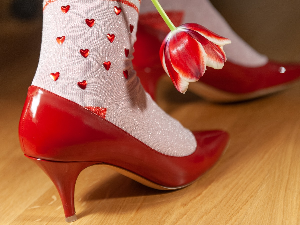 Burlington Socken Valentines Rock