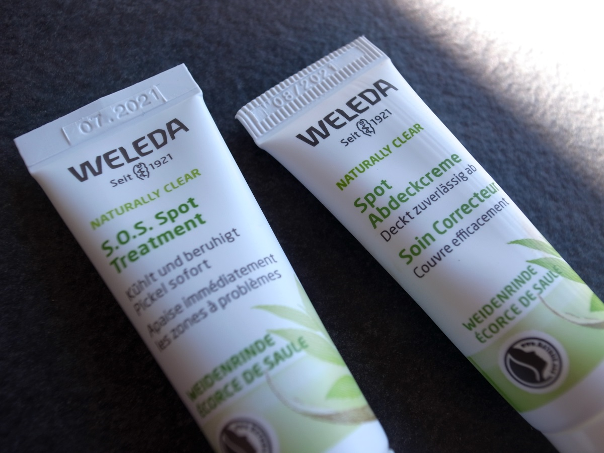 WELEDA NATURALLY CLEAR Spot Abdeckcreme & S.O.S. Spot Treatment
