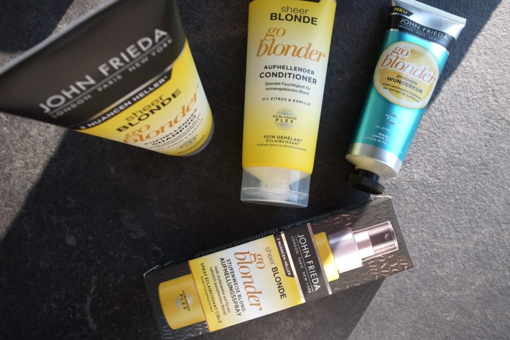 John Frieda sheer blonde #goblondergostronger