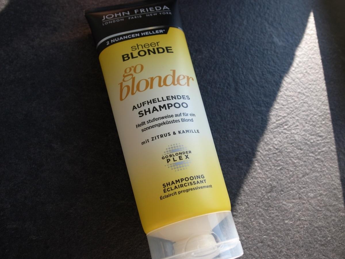John Frieda sheer blonde #goblondergostronger