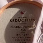 sensual seduction // TRIUMPH SEDUCTION – DUSTING POWDER TALC