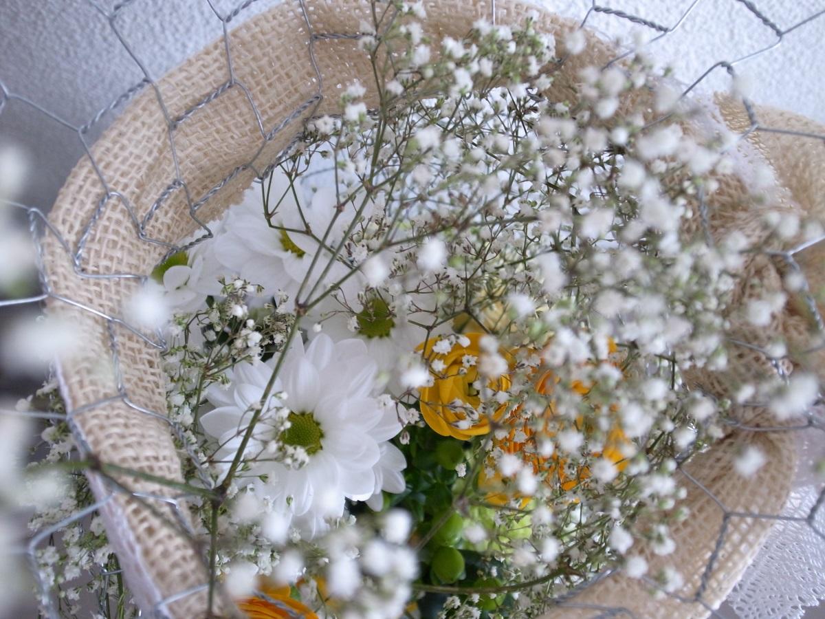 Blumen stecken, Wellness- & Spa-Hotel Beatus Merligen