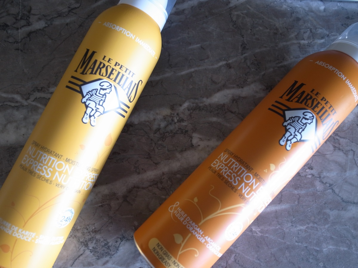 Le Petit Marseillais Body Spray Nutrition Express