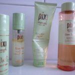 PIXI'S Steps to glow: Glow Mud Cleanser, Glow Tonic, Glow-O2 Oxygen Mask & Glow Mist